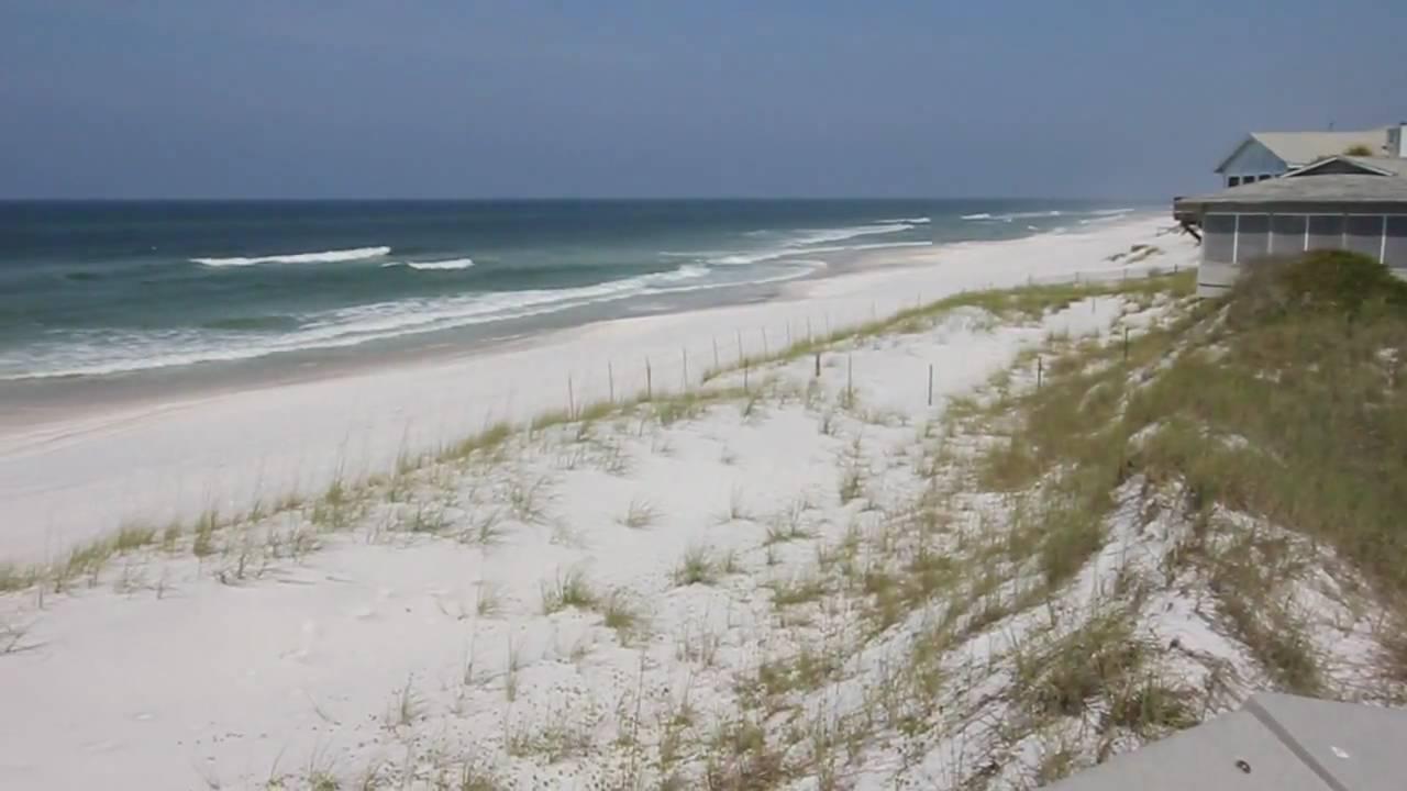 Sowal Beach Access Inlet At Florida