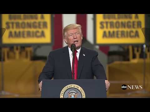 President Donald Trump delivers remarks on infrastructure initiative | ABC News