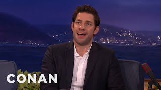 Chris Hemsworth's Hot Body Kept John Krasinski From Being Captain America  - CONAN on TBS by : Team Coco