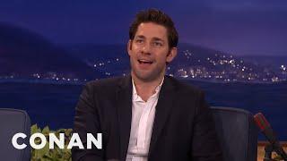 Chris Hemsworth's Hot Body Kept John Krasinski From Being Captain America  - CONAN on TBS by : Team Coco