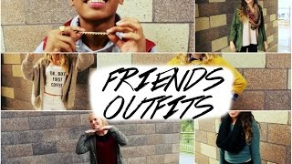 COME TO SCHOOL WITH ME | Friends Outfits