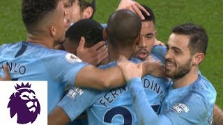 Gabriel Jesus scores penalty kick to double Man City's lead v. Wolves | Premier League | NBC Sports