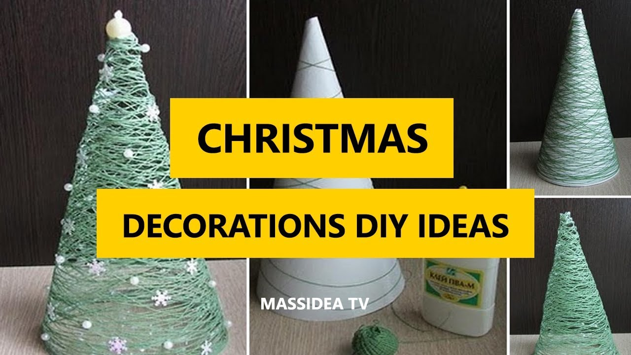 50 Best Christmas Decorations Diy Ideas For House 2018 Youtube