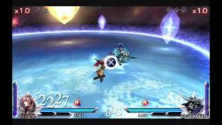 Dissidia 012 Final Fantasy - Lightning vs. Garland (12th cycle end)