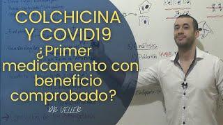 COLCHICINA COVID 19 | ANÁLISIS y EVIDENCIA estudio COLCORONA - Dr Veller