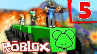 WILD MOUSE COASTER! | ROBLOX Theme Park Tycoon #5 w/ SallyGreenGamer & SheSoGlitz!