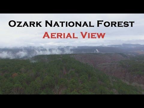 Ozark NF Aerial View