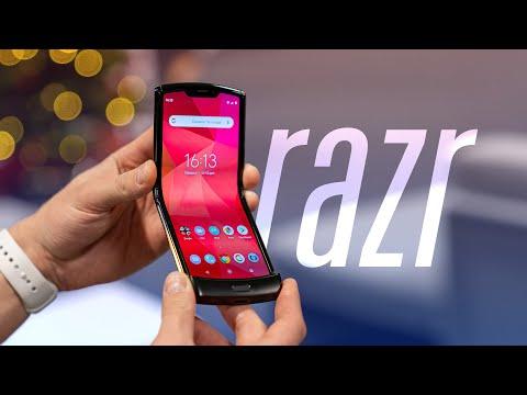 Обзор Motorola Razr (2019)