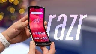 Обзор Motorola RAZR (2019) — ГНЁТСЯ!