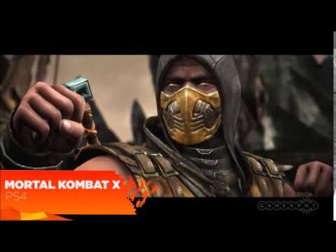 Mortal Kombat X 2015 Ps4 Xbox One Pc Gameplay Youtube