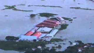 Clark, Pampanga, other areas in Luzon remain flooded due to Typhoon Lando
