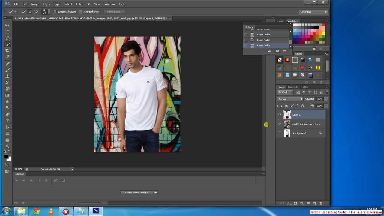 How to change background in adobe photoshop cs6 tutorial youtube how to change background in adobe photoshop cs6 tutorial baditri Choice Image
