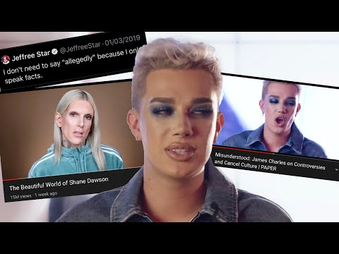 James Charles BREAKS DOWN over Jeffree Star and Tati Westbrook. thumbnail