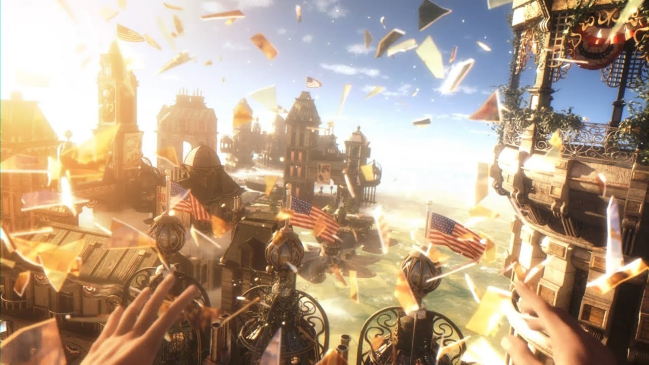 Bioshock infinite is a smart game for smart gaymers - YouTube