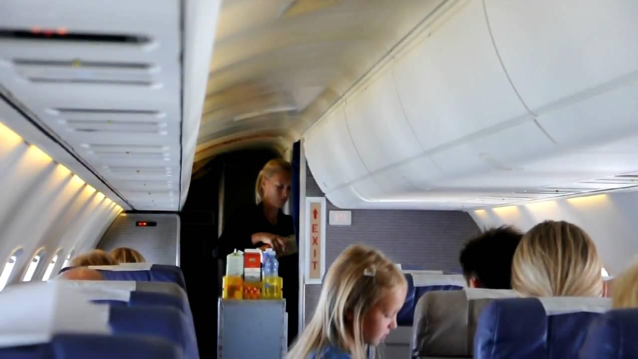 Cabine View Of A Erj 145 Quot City Airline Quot June 2009 Hd