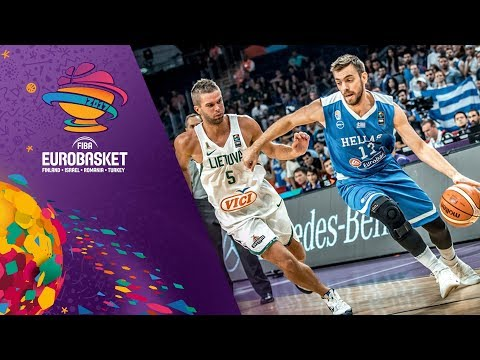 Lithuania v Greece - Full Game - Round of 16 - FIBA EuroBasket 2017