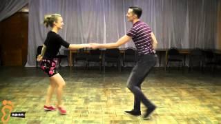 Гоша и Юля в Туле, 3 урок - dips and tricks (буги вуги)