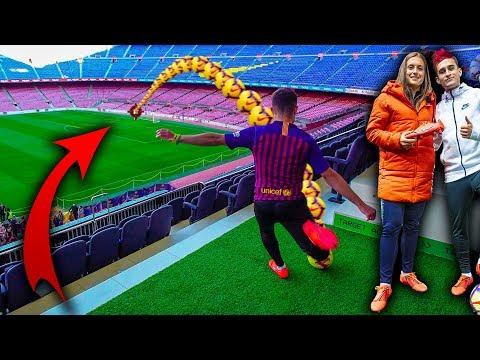 FALLO EL GOL DE MI VIDA EN EL CAMP NOU ft. Alexia Putellas *GOL IMPOSIBLE*