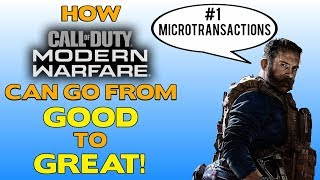 How Call of Duty Modern Warfare Can Go From Good to Great! Early Access