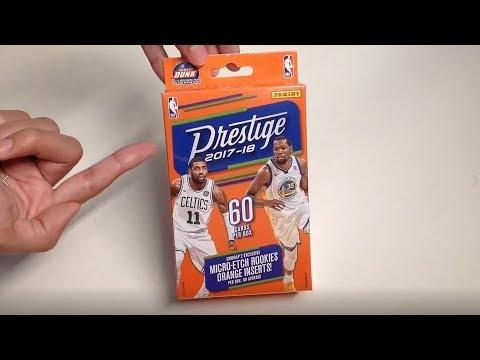 Panini 2017-18 Prestige Basketball Hanger Box Unboxing