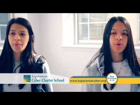 Esperanza Cyber Charter School 30 second commercial spot