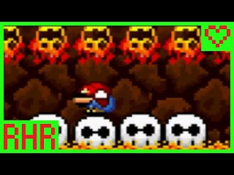 "②【Mario Wants His Lemonade - ""The Furrow is Quite Fiery""】Squiggy's ROM Hack Romp (SMW ROM Hack)"