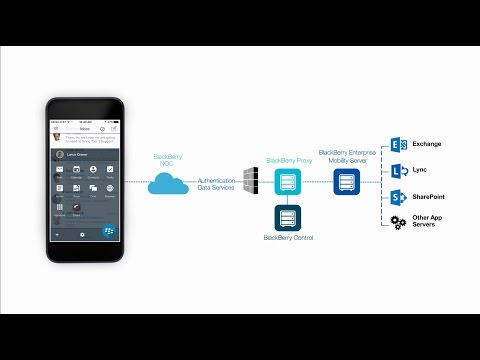 BlackBerry Dynamics Secure Mobility Platform