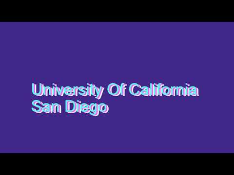 How to Pronounce University Of California San Diego