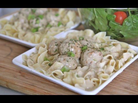 Creamy Meatball Stroganoff Recipe (Slow Cooker)