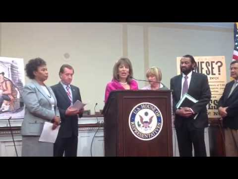 Expressing Regret for Chinese Exclusion Act - Press Conference