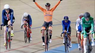 Kirsten Wild, 3 times World Champion at World Championships track cycling in Apeldoorn
