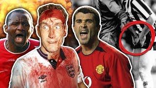 Craziest Hardmen In Football History XI  Keane Vieira  Pepe