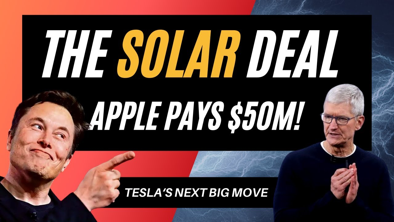Should you Invest in Solar Energy? | Why Apple paid M for Batteries