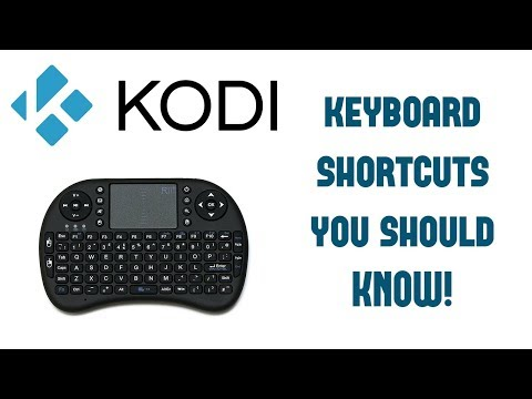 Kodi Wireless Keyboard Stop & Menu Buttons PLUS Helpful Shortcuts Every Kodi User Should Know