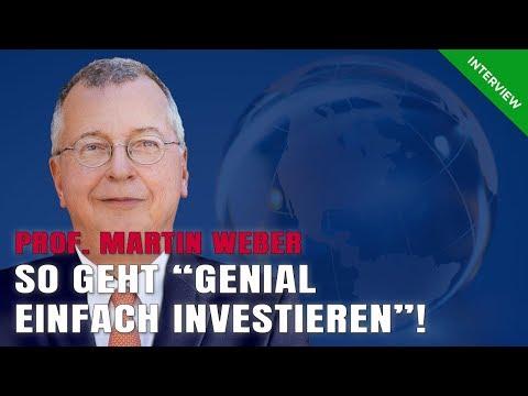 Martin Weber – Genial einfach investieren | Teil 2/3