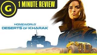 homeworld: Deserts of Kharak - 1 Minute Review