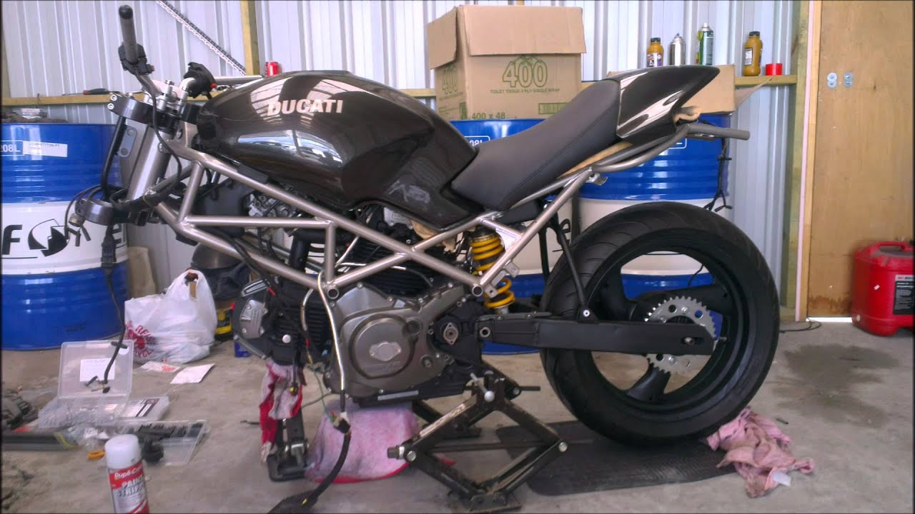 Living With A Ducati Monster
