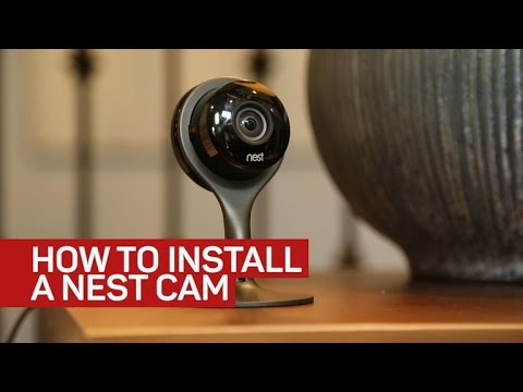 how to install a nest cam youtube. Black Bedroom Furniture Sets. Home Design Ideas