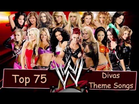 Top 75 - WWE Divas Theme Songs