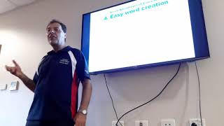 A quick introduction into Esperanto – Rainer Kurz at Rotary Singleton/Australia