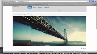 Curso de Joomla! 3.2 - vídeo-tutorial Blank Template (parte 8)