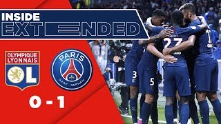 INSIDE [EXCLUSIVE FOOTAGE]  - LYON vs PARIS SAINT-GERMAIN