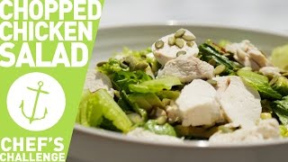 How To Make Easy Chopped Chicken Salad Bondi Harvest Chef's Challenge
