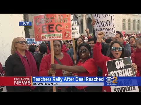 LAUSD, Teachers Union Reach Deal To End Teachers Strike