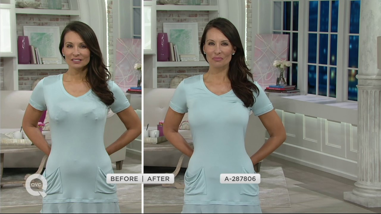 edf58781f0 Breezies Wirefree Seamless Jacquard Comfort Bra on QVC - YouTube