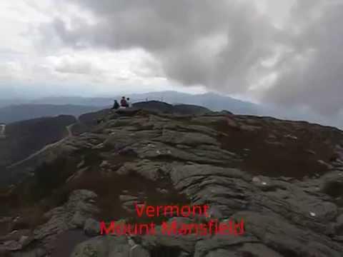 Panoramic Views around 37 State High Peaks
