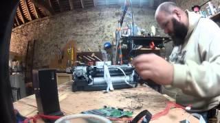 LaGrotteDuBarbu - miniGrotte - démontage d'une imprimante jet d'encre