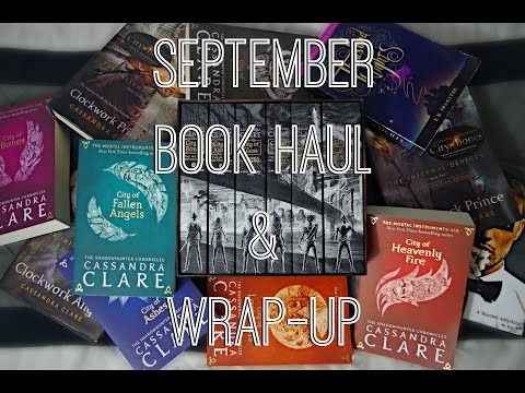 A VERY SHADOWHUNTER BOOK HAUL & WRAP UP.