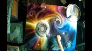 Spray Painting Art GoPro Hero 2 Breaking The Dawn by Matt Sorensen