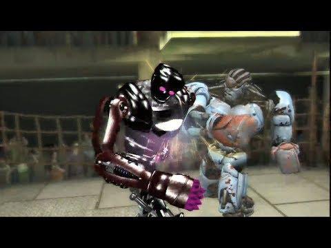REAL STEEL THE VIDEO GAME [PS3/XBOX360] - AMBUSH vs ATOM X - 동영상